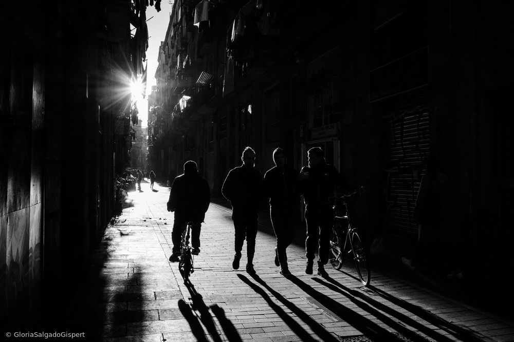 View this piece of fine art photography titled Barcelona un dia d'hivern by holger droste