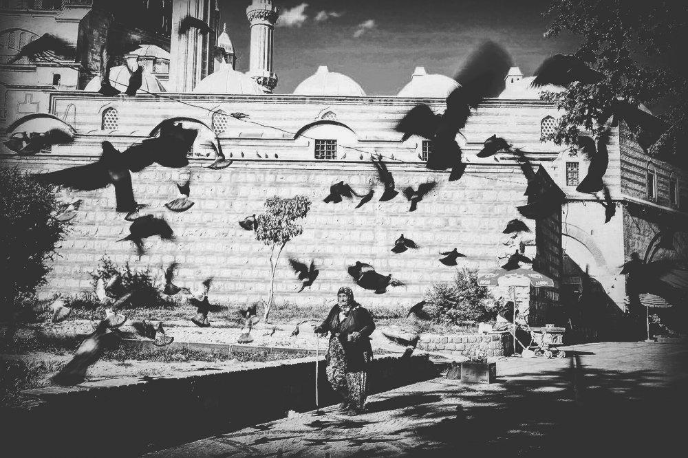 A piece of fine art art photography titled Selimiye by EMRE YILDIRIM