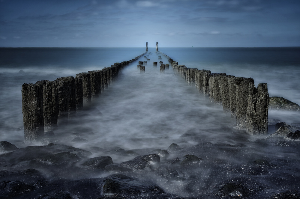 View this piece of fine art photography titled Sea level by Anton van Dongen