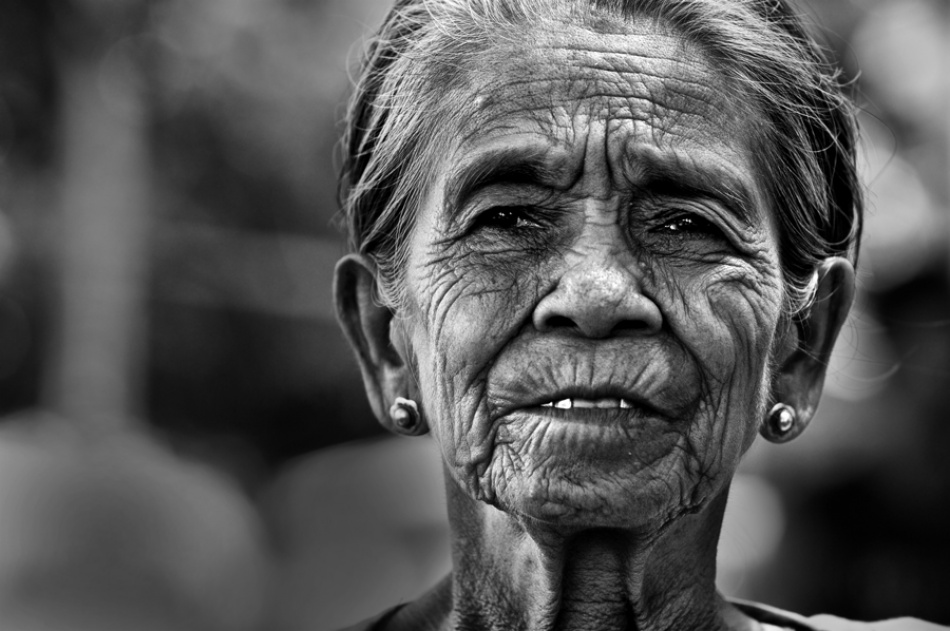 A piece of fine art art photography titled Grandma by A. Zahron