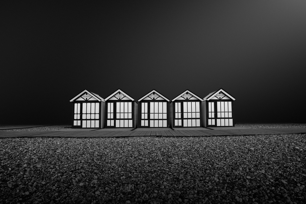 A piece of fine art art photography titled Cayeux Sur Mer- FRANCE by Arnaud MAUPETIT