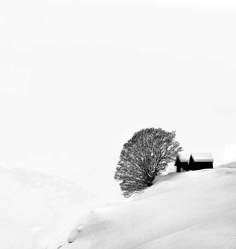 A piece of fine art art photography titled Beyond the Nothingness by Andrea Auf dem Brinke