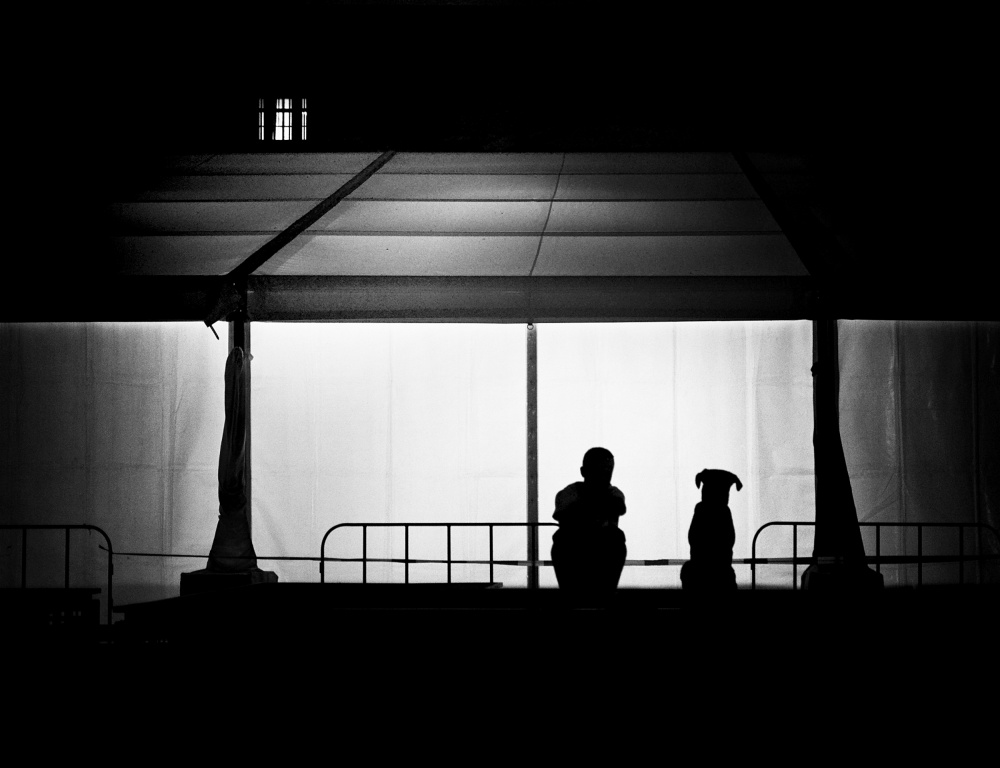 A piece of fine art art photography titled Right Here Waiting 4U by Mirela Momanu