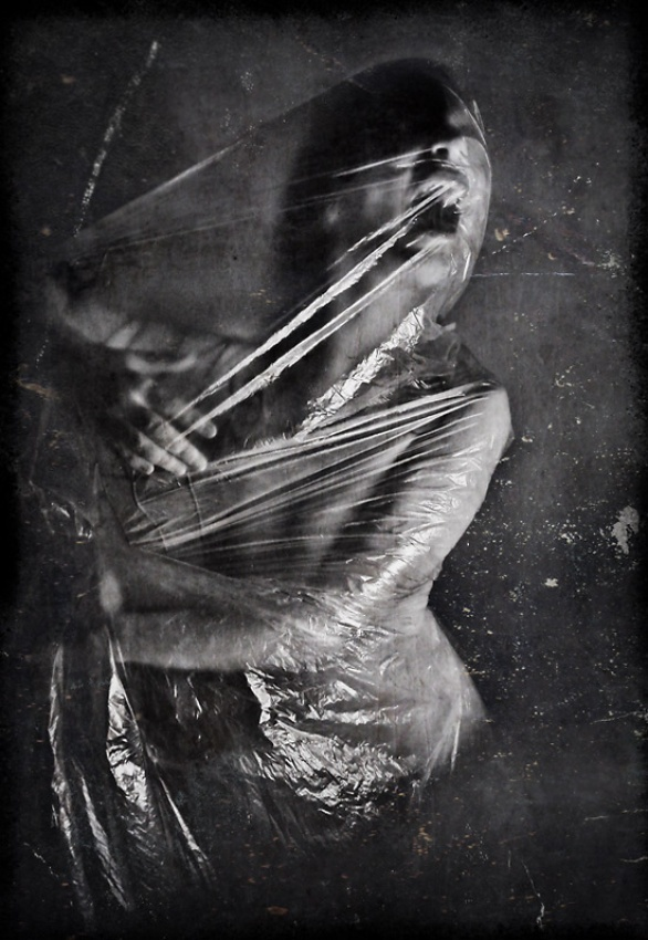 A piece of fine art art photography titled Scream by Anja Papenfuss