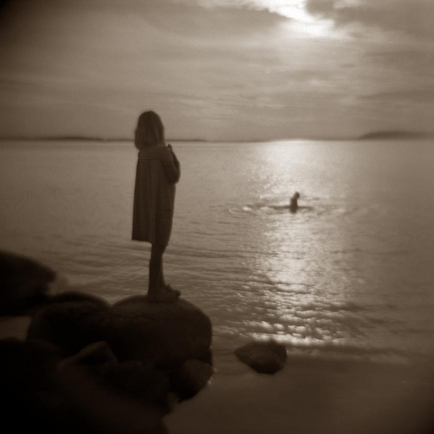 A piece of fine art art photography titled Summer Days by Christofer Grandin