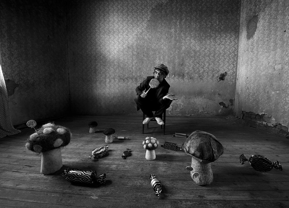 A piece of fine art art photography titled Psycho Candys by mario grobenski - psychodaddy