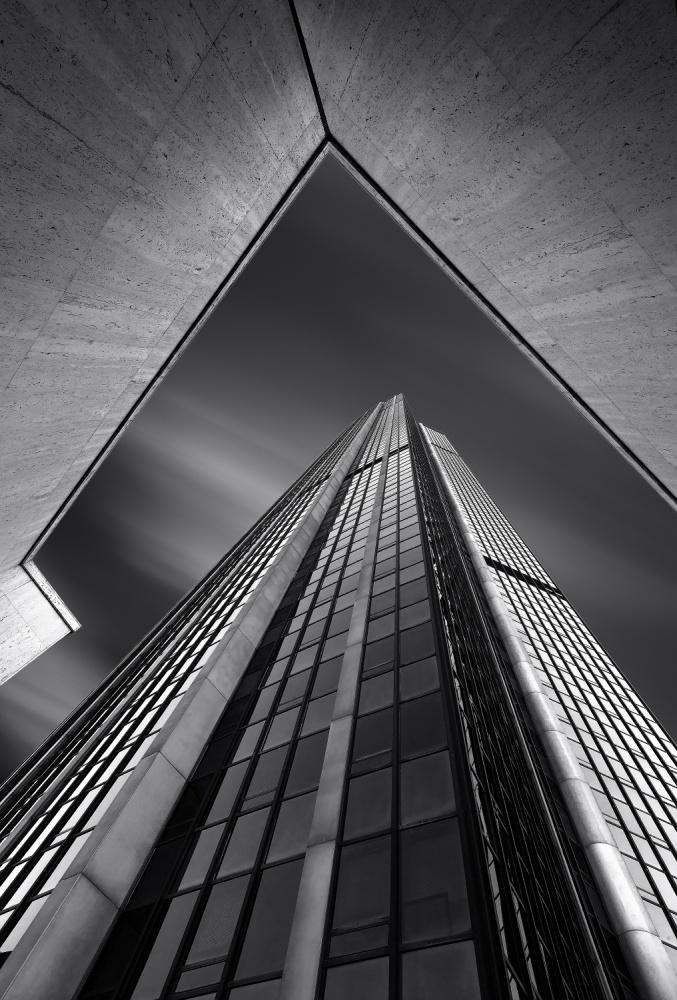 A piece of fine art art photography titled M Tower by blu julien