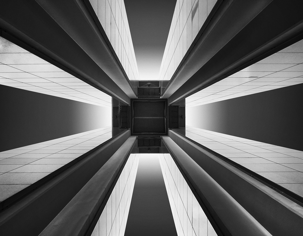 A piece of fine art art photography titled Berlin 17  (Carillon) by Wolfgang Mothes