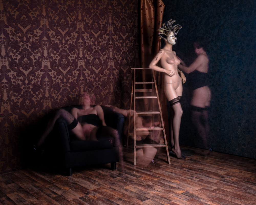 A piece of fine art art photography titled Geister by Alejandro Marcos