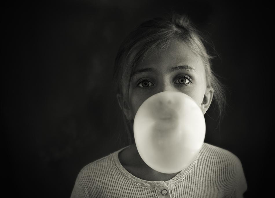 A piece of fine art art photography titled Bubble by U_SH