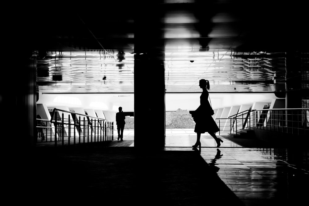 A piece of fine art art photography titled Underground by Evelin Dobrev