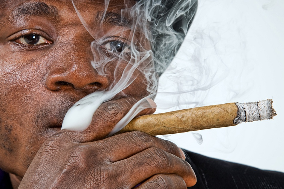 A cuban smoke