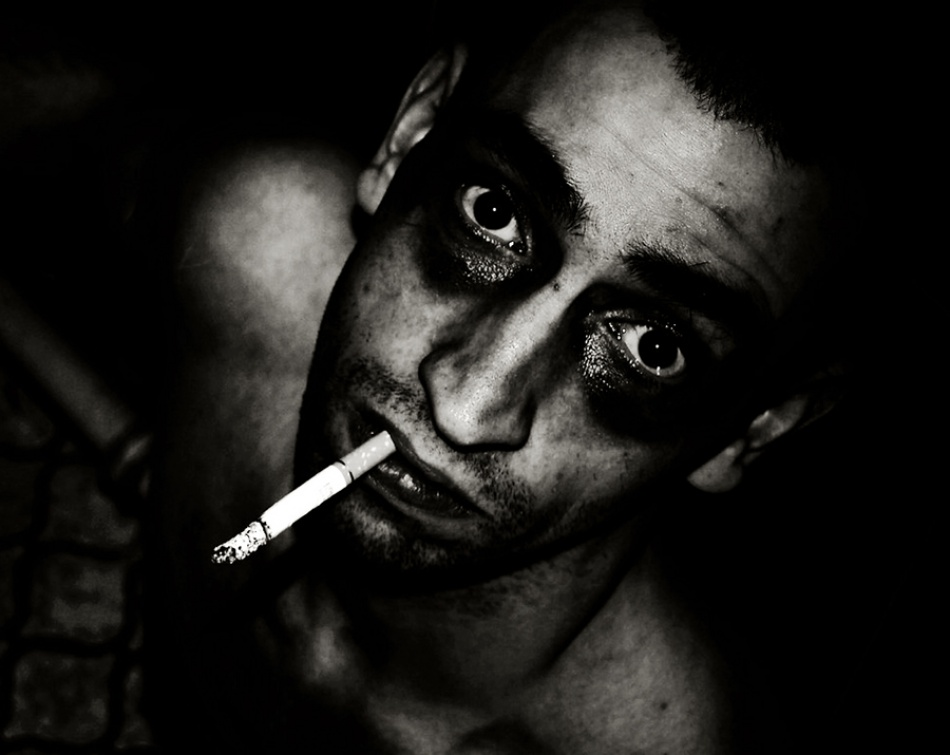 A piece of fine art art photography titled Fight Club by Zivko Risteski