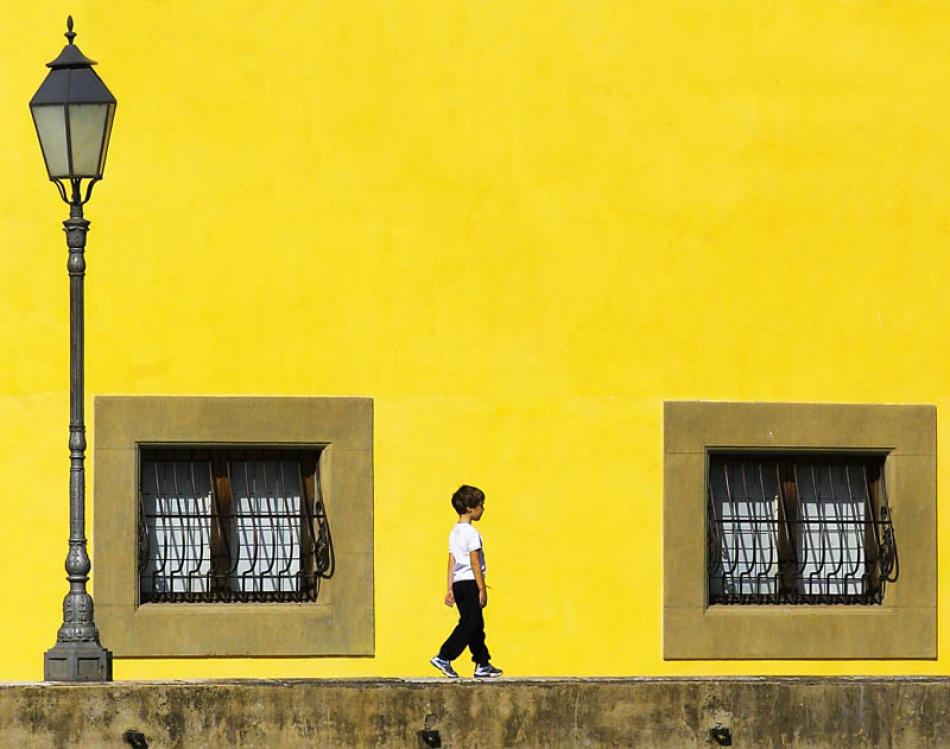 A piece of fine art art photography titled Boy by Danijel Kolega