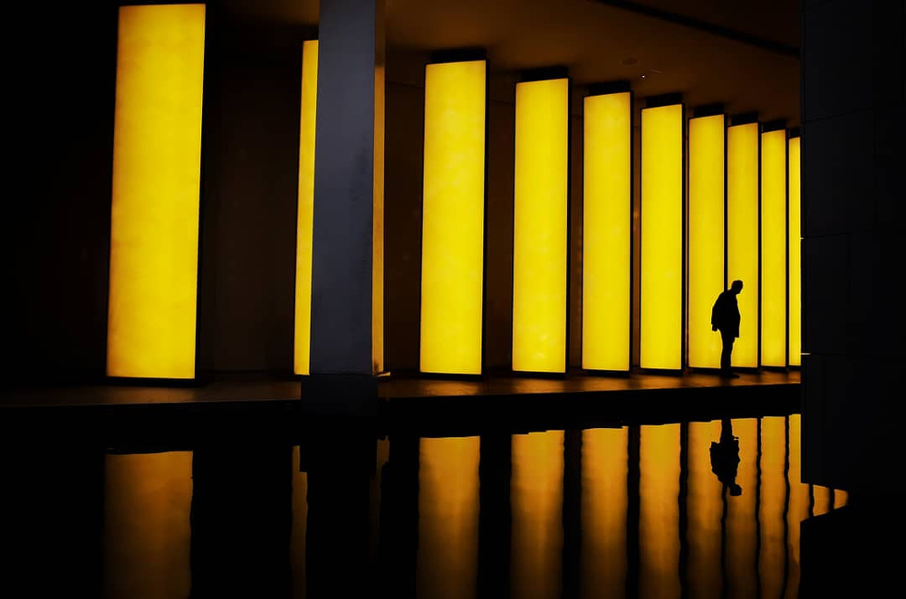 A piece of fine art art photography titled Yellow by Alessio Centamori