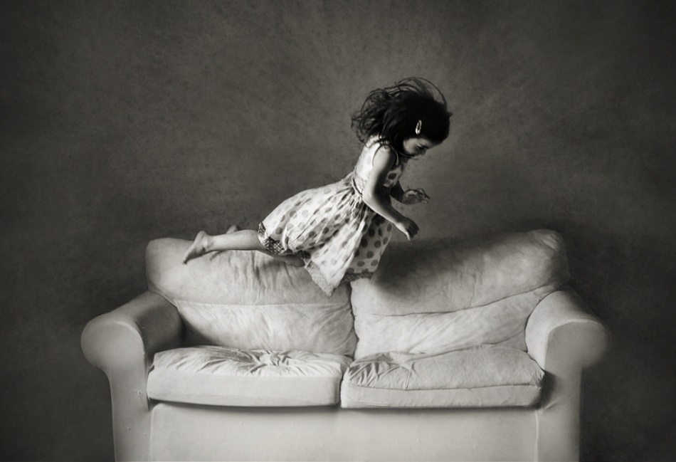 A piece of fine art art photography titled To Be a Child by Monique