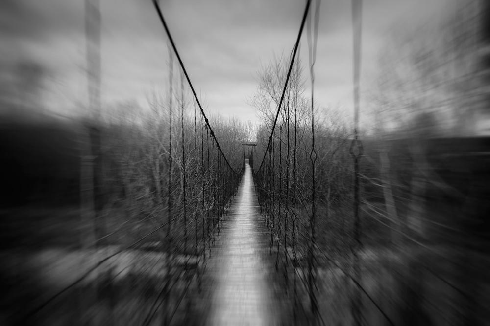 A piece of fine art art photography titled Old Bridge by catalin alexandru
