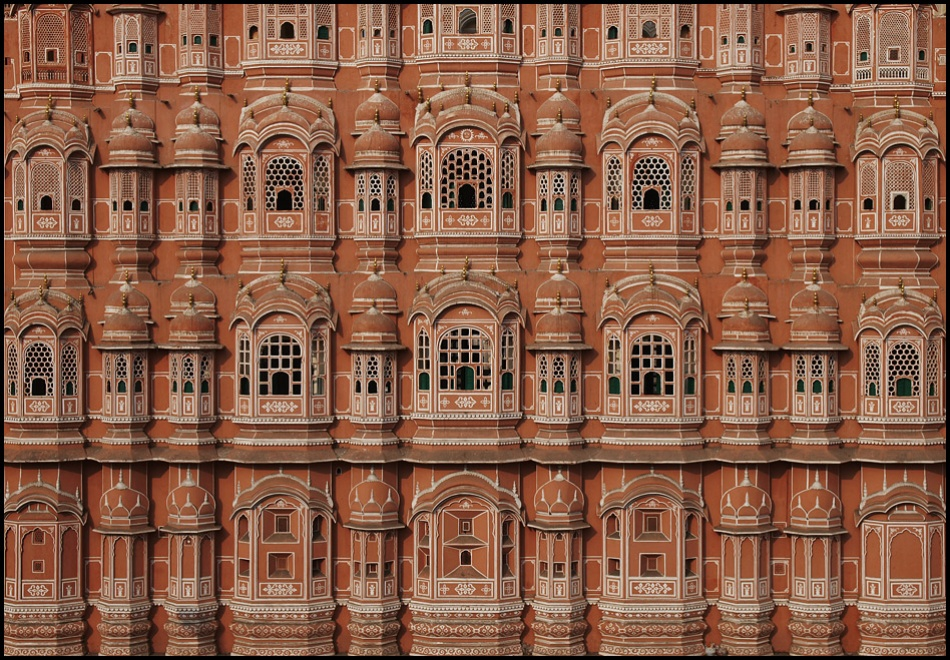 A piece of fine art art photography titled Hawa Mahal by sensorfleck