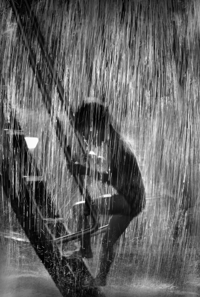 A piece of fine art art photography titled Summer Rain by Cristian Andreescu