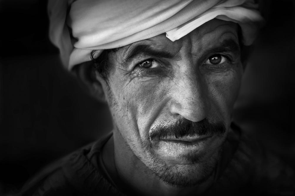 A piece of fine art art photography titled Amir by Norbert Becke