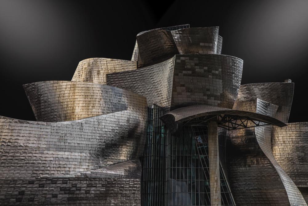 A piece of fine art art photography titled Guggenheim by Martin Zalba