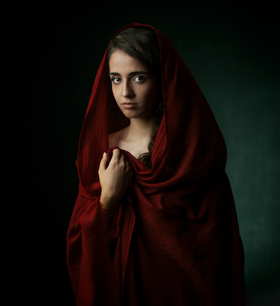 A piece of fine art art photography titled Negin by Mehdi Mokhtari