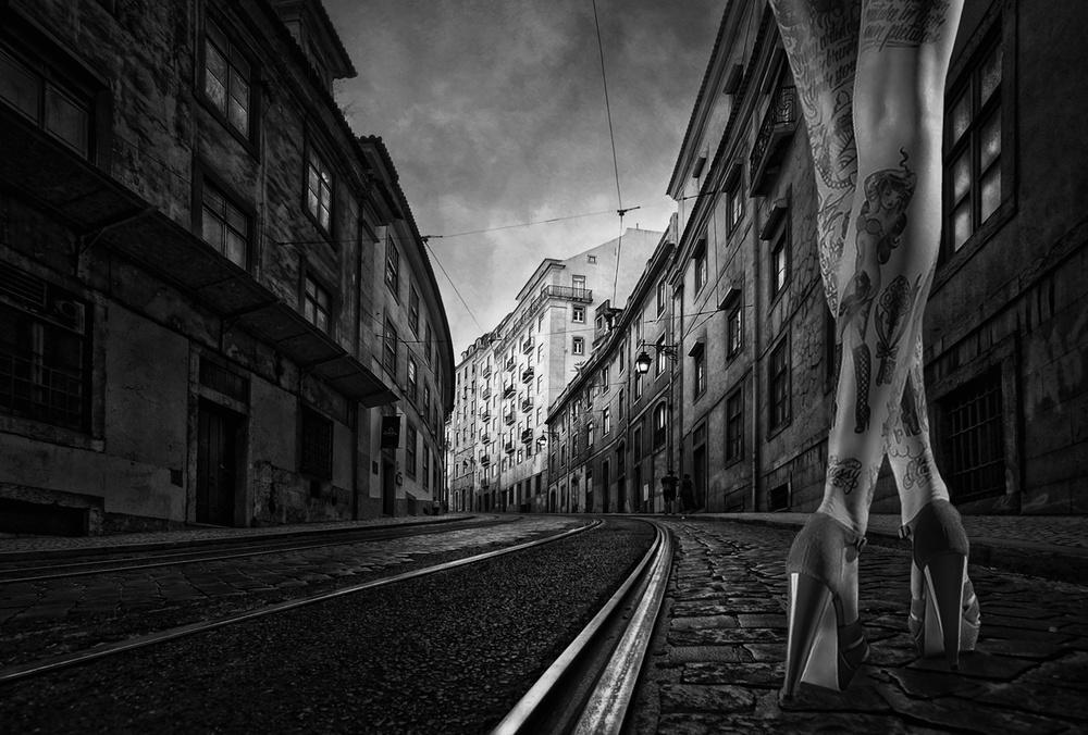 A piece of fine art art photography titled Irma La Douce by Jose C. Lobato