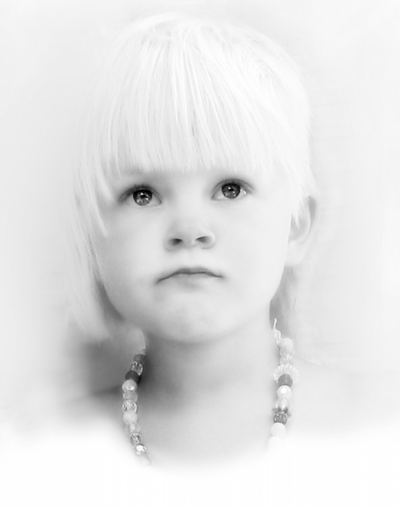 A piece of fine art art photography titled Thoughtful by AnnicaWesterlund