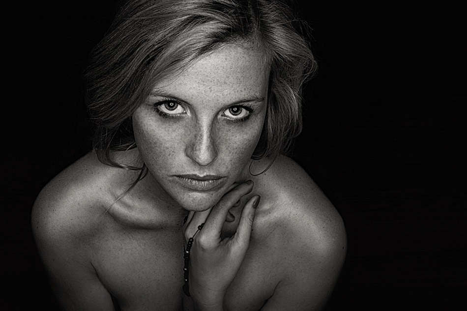 A piece of fine art art photography titled Pure by Reinhard Block