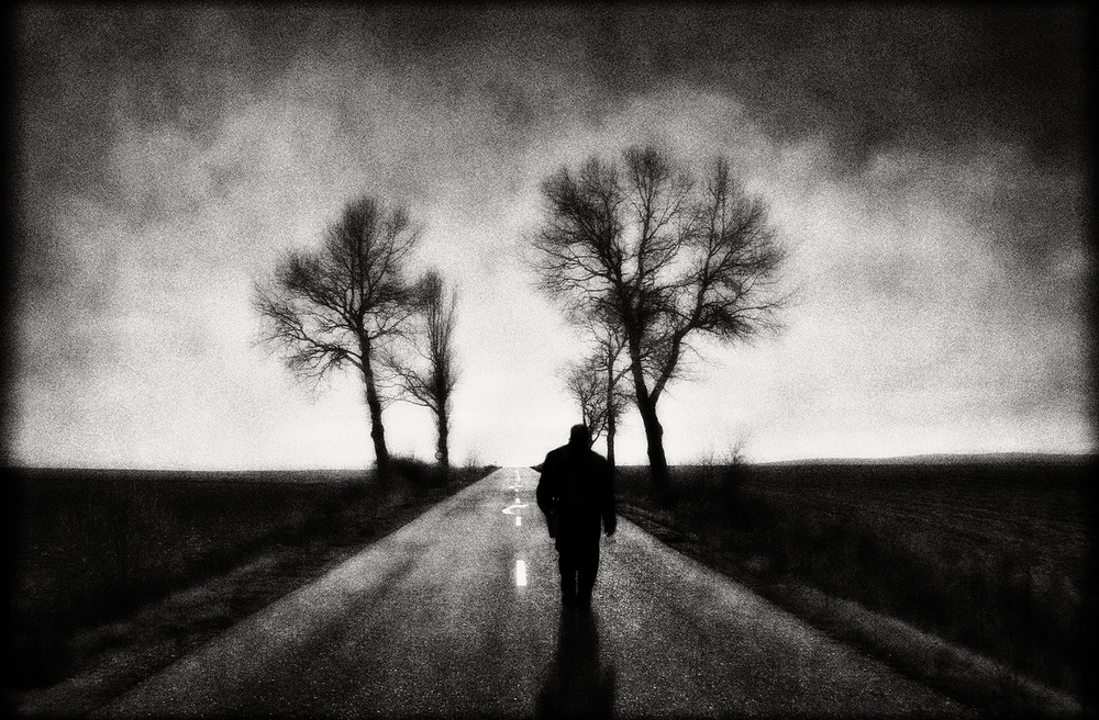 View this piece of fine art photography titled The walker by Jose C. Lobato