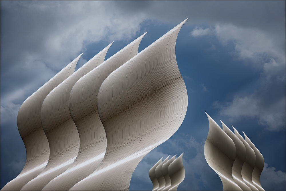 A piece of fine art art photography titled Future Abstract by Henk van Maastricht