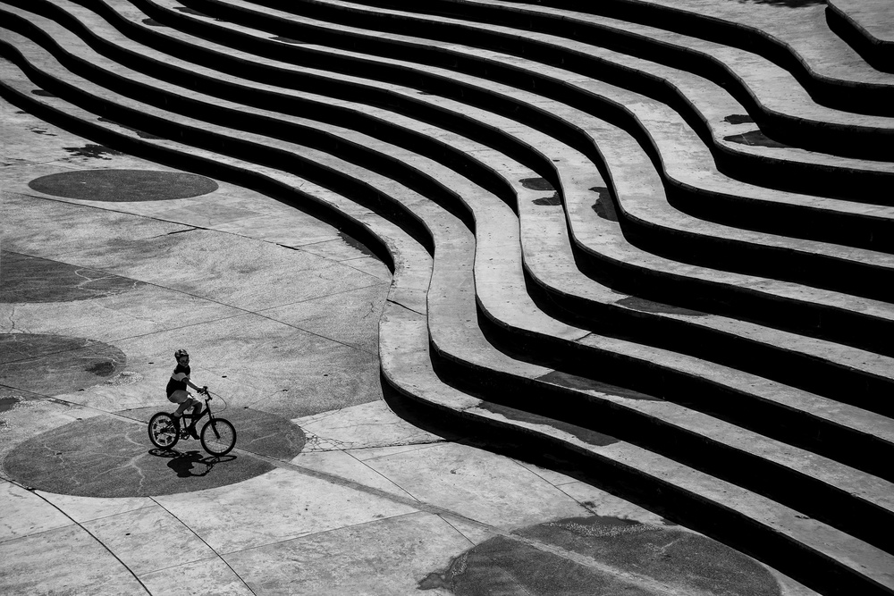 A piece of fine art art photography titled Bicycle by suleyman uzumcu