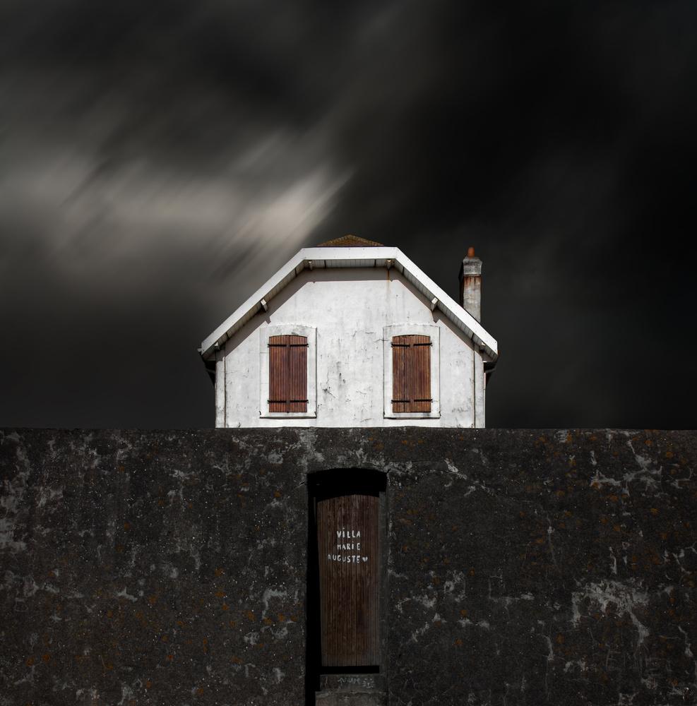 A piece of fine art art photography titled Villa Marie Auguste by Gilbert Claes