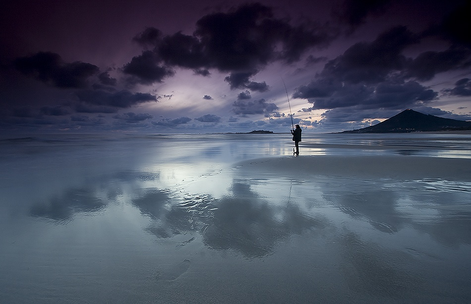 A piece of fine art art photography titled Fisherman Friend by pedro alexandre