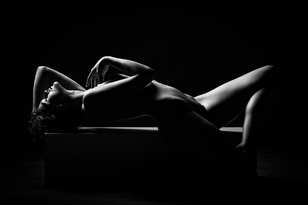 A piece of fine art art photography titled Geometric Bodies II by Luc Stalmans