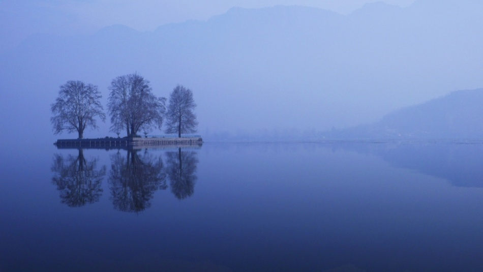A piece of fine art art photography titled Kashmir's Dream by Florian Wardell