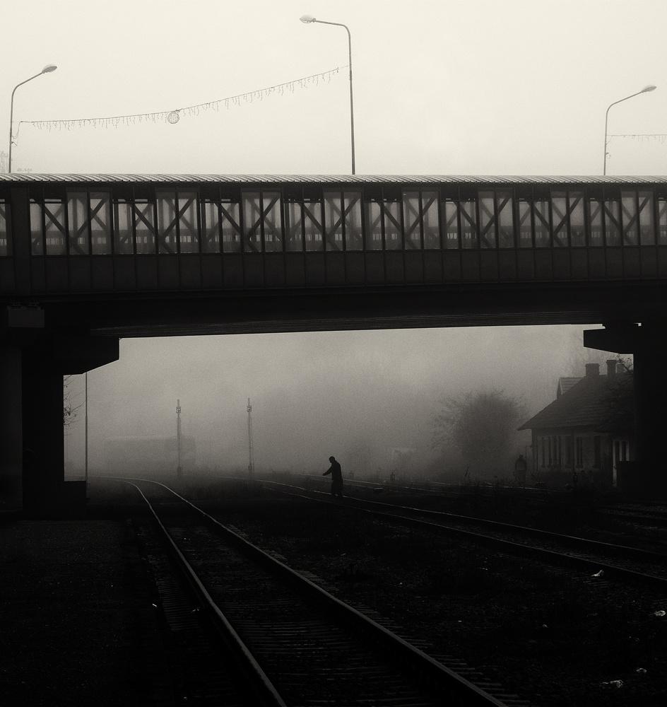 Monday foggy