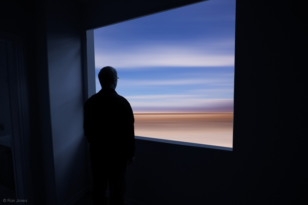 Taking in a Blurred Expanse