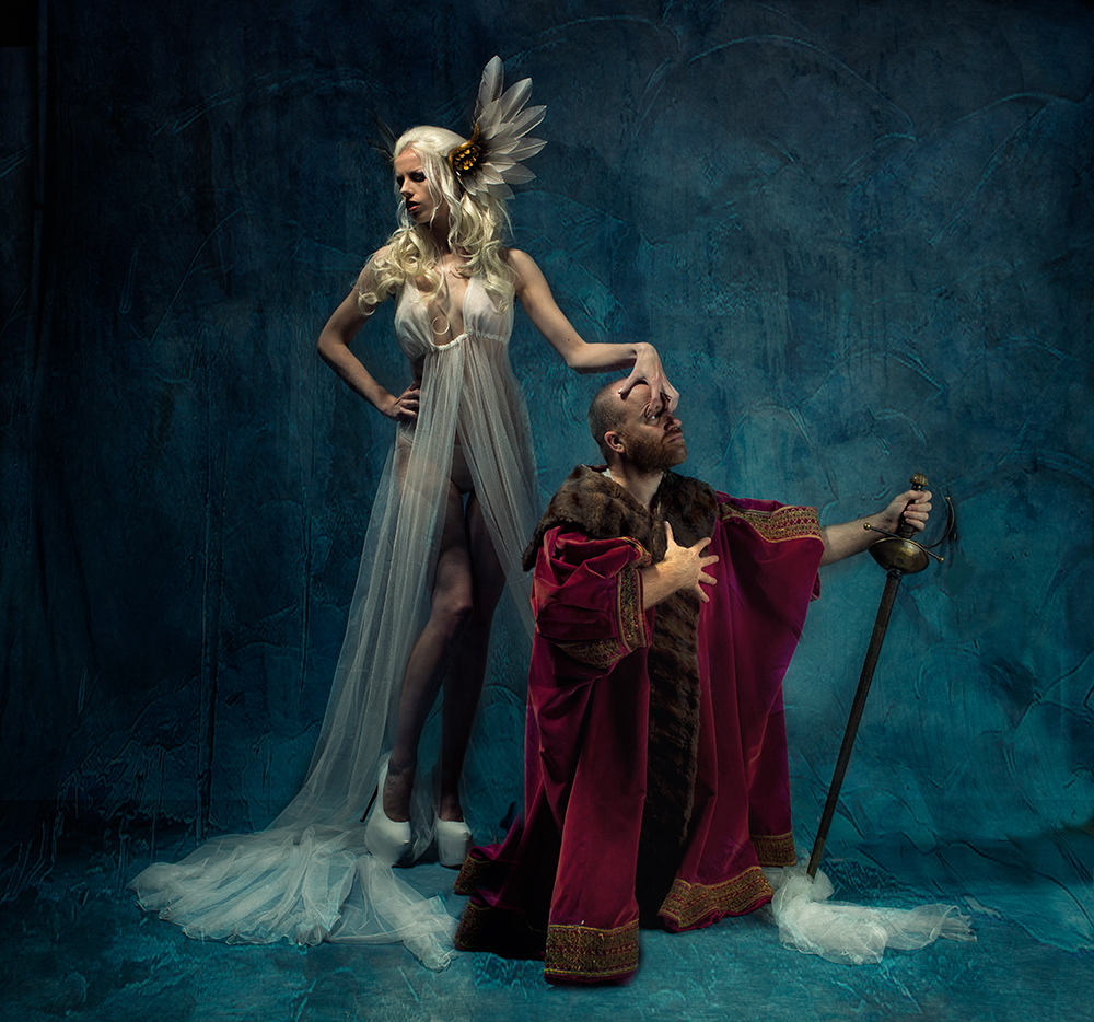 A piece of fine art art photography titled Iceeeee by Peter Kemp