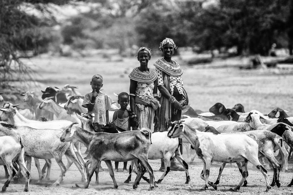 Samburu family