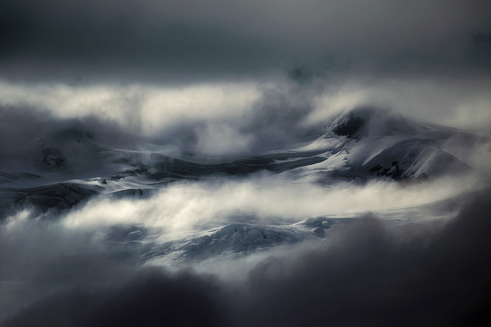 A piece of fine art art photography titled Peaks by swapnil.