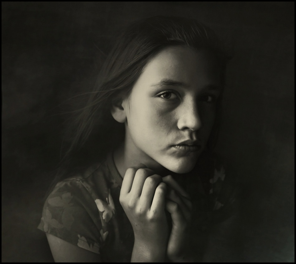 A piece of fine art art photography titled S by Raphael Guarino