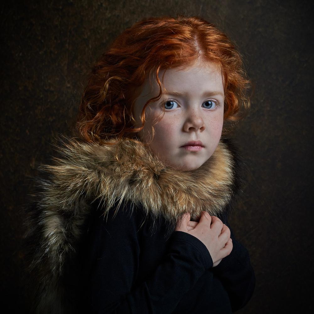 A piece of fine art art photography titled Sjuulke 2 by Gemmy Woud-Binnendijk