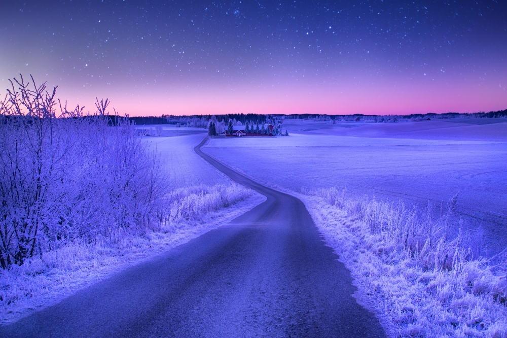 Magic norwegian winter.