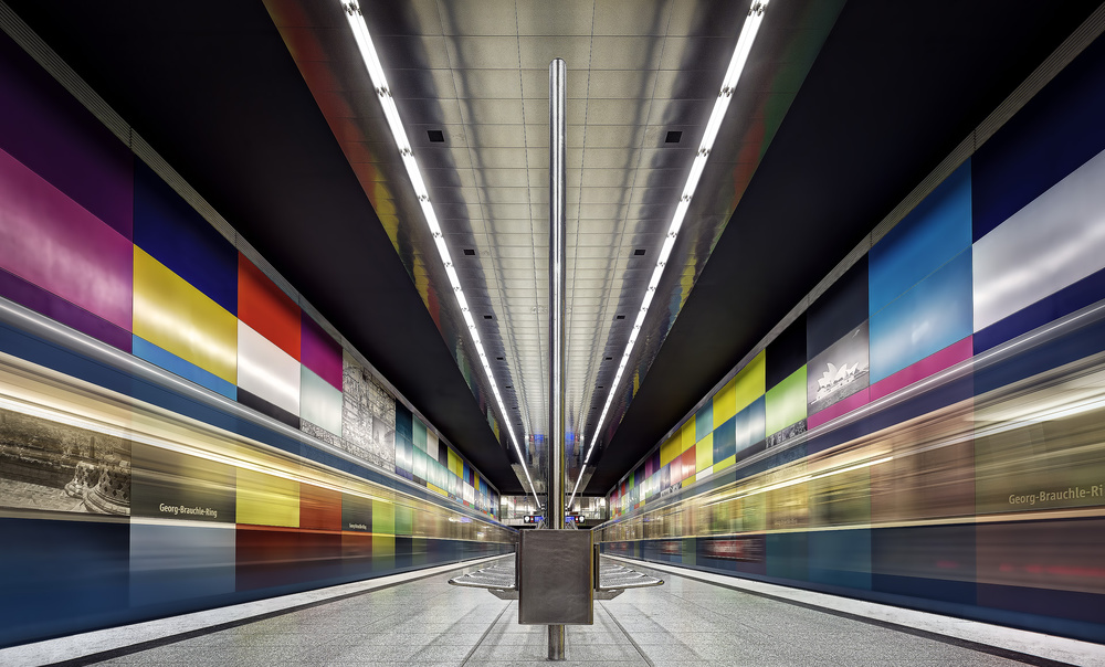 A piece of fine art art photography titled Colored #05# by Andreas Paehge