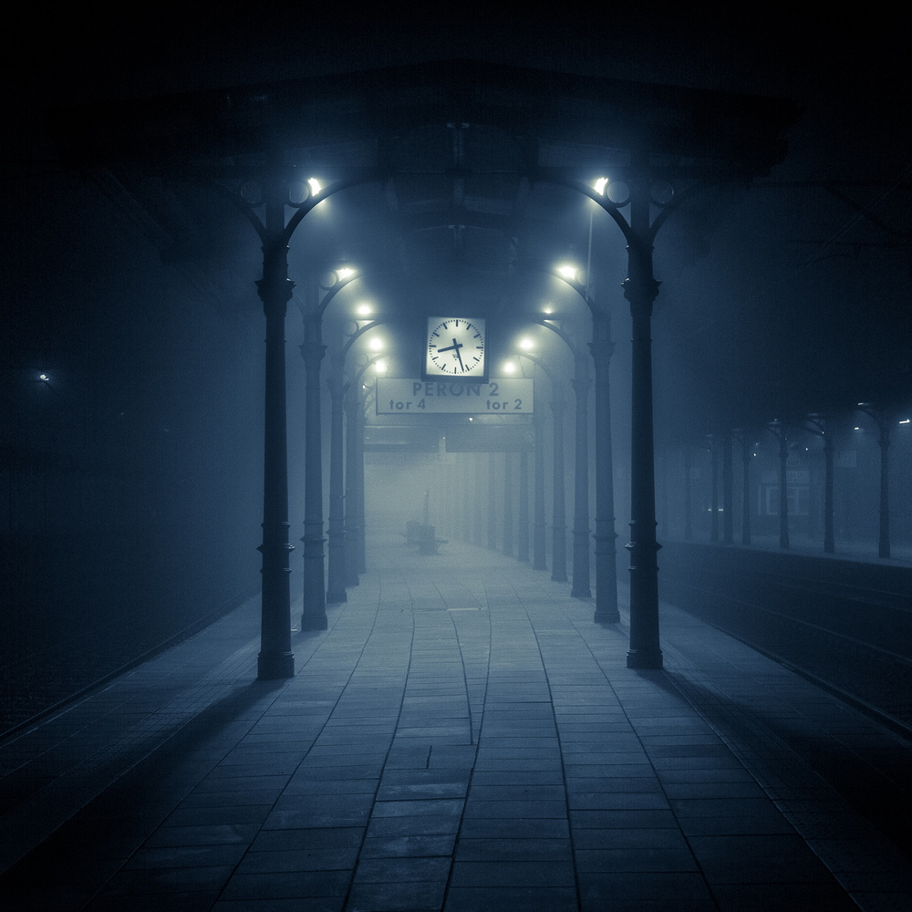 View this piece of fine art photography titled Moody station by Pawel Uchorczak