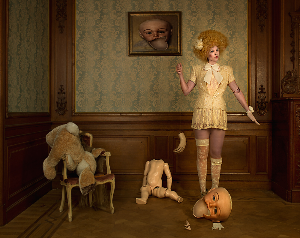 A piece of fine art art photography titled Broken by Peter Kemp