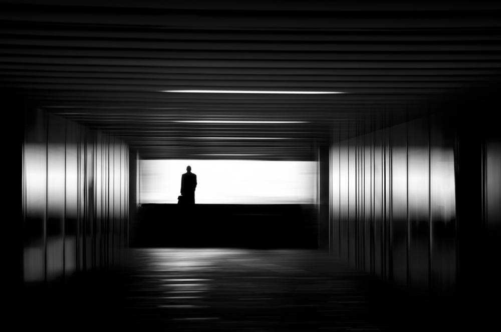 A piece of fine art art photography titled Exit by Rafael Kos