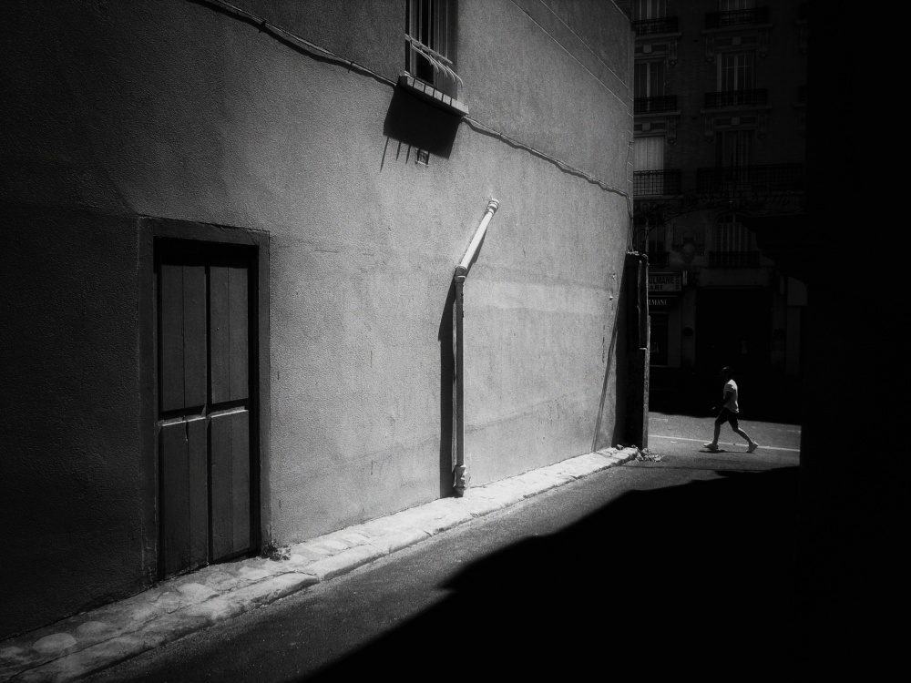A piece of fine art art photography titled Between the Shadows by Lara Kantardjian