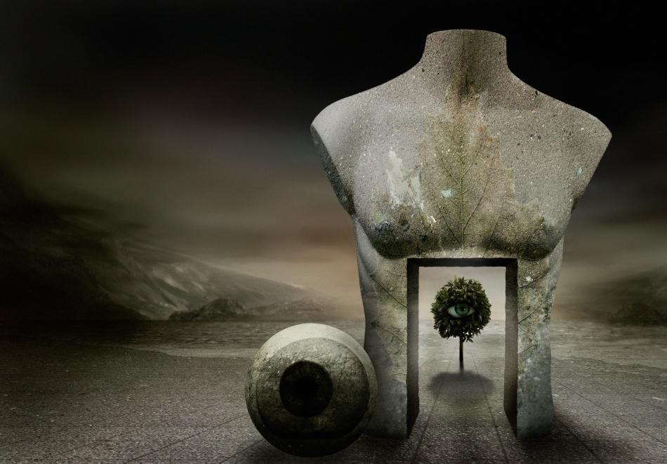 A piece of fine art art photography titled The Guardian by Ben Goossens